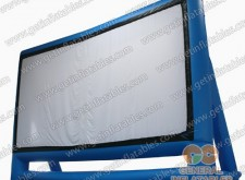 Inflatable Screen in Blue