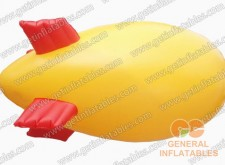 Yellow Inflatable Blimp