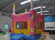 Birthday party bounce house
