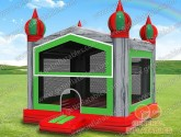 Grey marble Inflatable castle