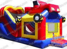 Speed Racer Inflatable Castle Combo