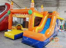 Birthday party inflatable combo