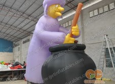 Inflatable Wizard