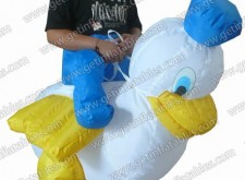 Inflatable Moving Donald Duck