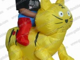 Inflatable Moving Cat