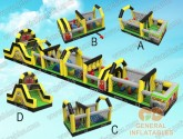 Linear Obstacle course