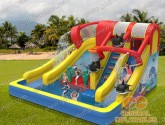 Cool your summer! Waterslides